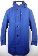 G-Star Garber wool trench hommes veste manteau Imperial blue taille L neuf avec étiquette