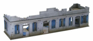 North African/Colonial Large Destroyed Single Storey Building 20mm MDF Sariss...