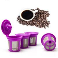 1xPerfect Pod Reusable K Cup Filter Refillable Pod Capsule For Keurig Set I4Z3