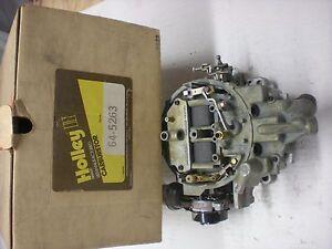HOLLEY REMAN MOTORCRAFT VARIABLE VENUTRI 1980 FORD-MERCURY 302 ENGINES