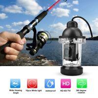 650TVL HD 360° Rotating Underwater Fishing Fish Finder Camera Monitor