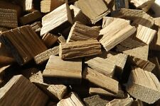 Kentucky Bourbon Barrel Wood BBQ Smoking Chunks Chips 1 kilo