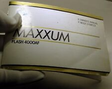 Minotla Maxxum 4000Af flash 4000 Af Instruction Manual English En