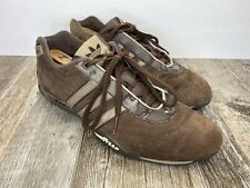 Adidas Tuscany Adi-Racer Goodyear Shoes Men Size 9 M Brown Suede