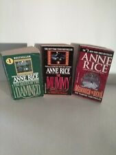 Lot of (3) Anne Rice Paperback Novels - Good Condition (PB)