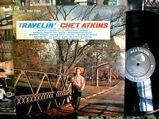 Chet Atkins Lp Travelin Nr Mint Disc LIVING STEREO 1963