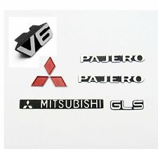 ROCK CRAWLER METAL PAJERO LOGO SET For Tamiya  CC01  W4