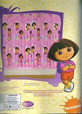 """Dora The Explorer 66"""" x 72"""" Curtains Official  merchandise 100% cotton"""