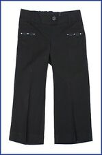 Ex Mark and Spencer Girls Black School Trousers Brand New