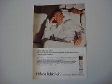 advertising Pubblicità 1976 HELENA RUBINSTEIN LIQUID FOUNDATION