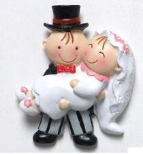 Bomboniera segnaposto calamita sposa in braccio matrimonio segnaposto