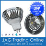 12V 3W LUXEON LED MR16 WHITE DOWNLIGHT GLOBE - Ceiling/Lamp/Caravan/Down Light