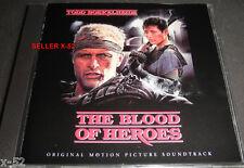 THE BLOOD of HEROES rare CD soundtrack Todd Boekelheide Rutger Hauer movie score