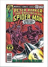 SPECTACULAR SPIDER-MAN #4  [1979 FN+]  FRANK MILLERS 1ST DAREDEVIL ART!