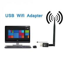 2.4G Wireless USB 2.0 Adapter Card WiFi with 5dbi High Gain Antenna 300M 802.11b