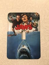 New listing Jaws Movie Light Switch Cover Face Plate Quint Metal