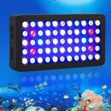 Popularow 165W Dimmable Full Spectrum Led Aquarium Light Marine Fish Reef Coral