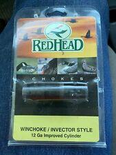 WinChoke/Invector 12ga Imp. Cylinder Choke Tube Blue, Win, Browning RedHead