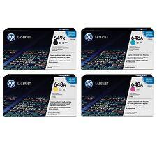 HP CP4525 TONER SET CE260X CE261A CE262A CE263A NIB