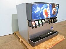 """SERVEND MD-200"" COMMERCIAL HD COUNTER-TOP LIGHTED 8 HEADS SODA w/ICE DISPENSER"