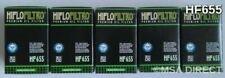 Husaberg FE570 Enduro (2009 to 2012) HifloFiltro Oil Filters (HF655) x 5 Pack