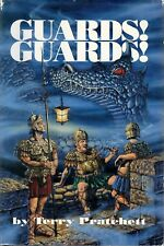 Guards! Guards! by Terry Pratchett (Discworld Series, Book #8) (1991, Hardcover)