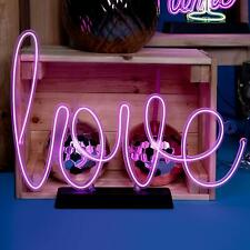 Love Neon Effect Sign Light Electro Luminescent Sign