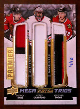 2015-16 KANE, CRAWFORD, TOEWS UPPER DECK PREMIER MEGA PATCH TRIOS SP /10
