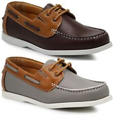 Men Brix Boat Shoes Moccasins Lace Up Causal Oxfords Grta