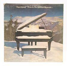 Supertramp Even In The Quietest Moments LP Vinyl Album Record 1977 AM