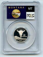 2007 S 25C Silver Montana Quarter PCGS PR70DCAM