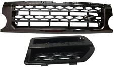 "2004-2009 Land Rover Discovery 3 LR3 Grille Grill and side vents black  ""F"""
