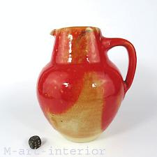 beautiful 60er Studio Keramik Kunstkeramik Otto Wichmann Art Pottery Jug Vase