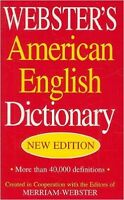 Webster's American English Dictionary by Inc. Staff Merriam-Webster (2009)