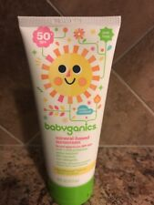 Babyganics Baby Sunscreen Lotion Mineral-Based SPF 50- 6 oz FRESH! Exp 03/2020