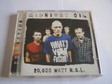 cd midnight oil: 20 000 watt r.s.l