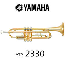 Yamaha YTR-2330 Trumpet %7c Gold Lacquer %7c Free Shipping!