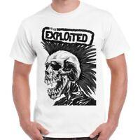 Exploited Hardcore Punk Rock Band Music Retro Vintage Unisex T Shirt 1035