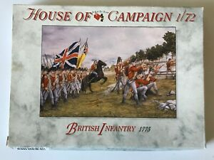 BRITISH INFANTRY 1775 - A CALL TO ARMS - NO:65 - 1/72 Scale