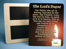 """""""The Lord's Prayer"""" 4 x 5 Sign - Fridge Magnet - Inspirational Quote- Sku# 504"""