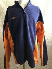 Burton Jacket ski snow board Men's L Blue Orange Tactic 64 Fleece