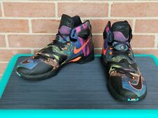 Nike Lebron XIII Akronite Philosophy Multi Color Shoes Size 11.5 807219 008