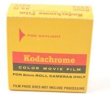 Kodak Kodachrome Color Movie Film, Double 8mm