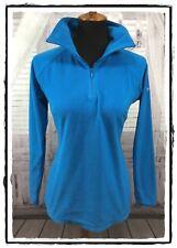 Columbia Women's Glacial Fleece III 1/2 Zip Long Sleeve Top Blue M Medium