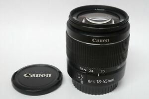 Canon EF-S 18-55 mm III Objektiv für EOS Digital gebraucht