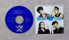 "CD AUDIO MUSIQUE / WORLDS APART ""EVERLASTING LOVE"" 2T CD SINGLE 1996 CARDSLEEVE"