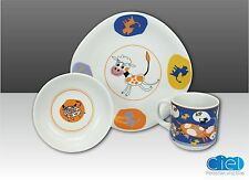 "Children Dishes Porcelain Set "" Karla "" with Animal Motif"
