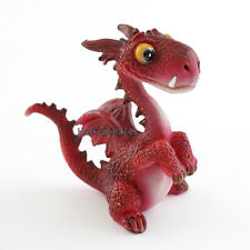 Miniature Mini Red Dragon # 4463 Fairy Garden Dollhouse