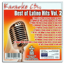 Karaoke CDG CD+G - Die größten Latino Italo 80'er Karaoke Party Hits - Neuware