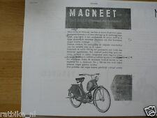 M0602 MAGNEET---INSTRUCTIES VOOR HET BERIJDEN VAN MAGNEET A50 MOTOREN----MODEL